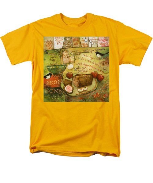 Irish Brown Bread Men's T-Shirt  (Regular Fit) by Jen Norton