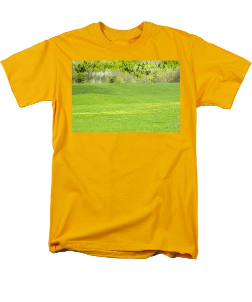 Spring Farm Landscape in Maine T-Shirt by Keith Webber Jr
