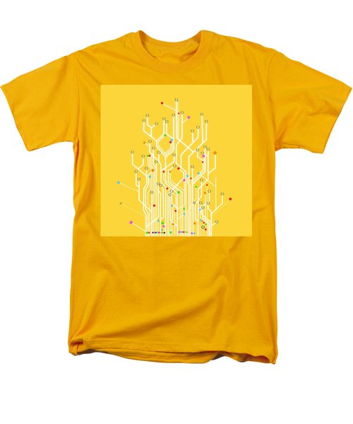 circuit board graphic T-Shirt by Setsiri Silapasuwanchai