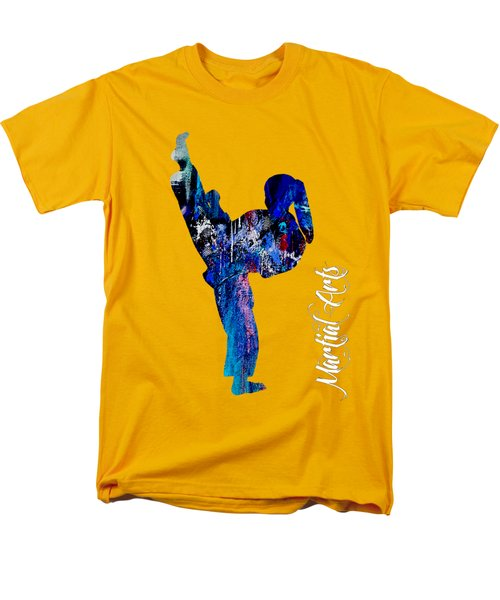 Martial Arts Collection Men's T-Shirt  (Regular Fit) by Marvin Blaine
