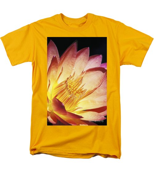 Pink Water Lily T-Shirt by Bill Brennan - Printscapes