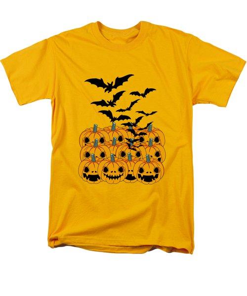 Pumpkin Men's T-Shirt  (Regular Fit) by Mark Ashkenazi