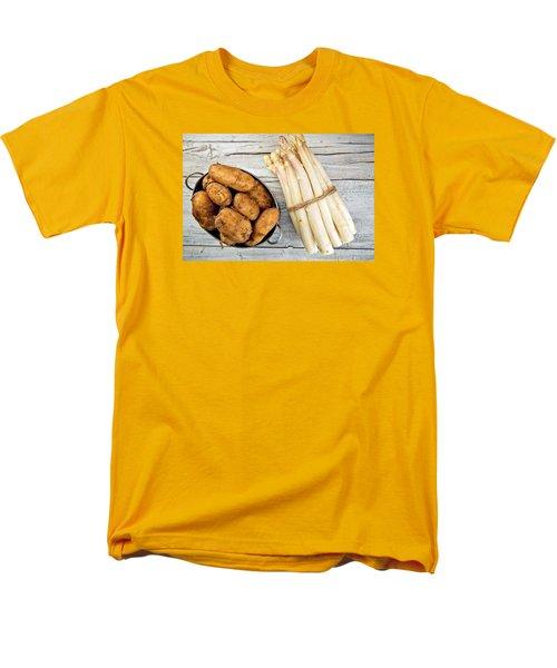 Asparagus Men's T-Shirt  (Regular Fit) by Nailia Schwarz