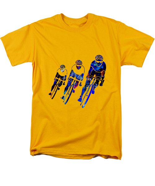 Bike Racing Men's T-Shirt  (Regular Fit) by Marvin Blaine