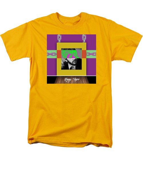 Ringo Starr Collection Men's T-Shirt  (Regular Fit) by Marvin Blaine