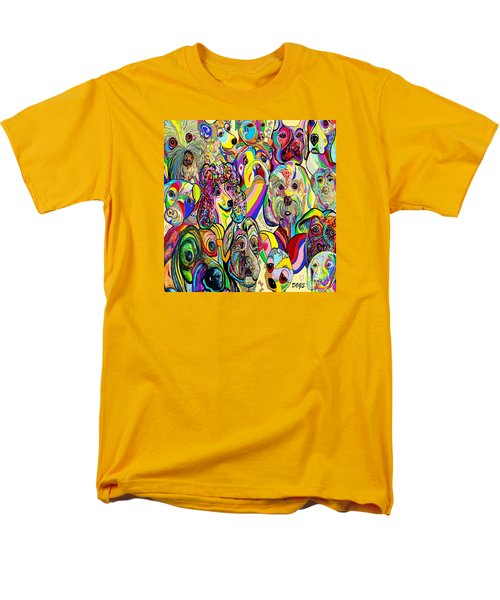 Dogs ... Dogs ... DOGS T-Shirt by Eloise Schneider