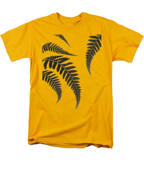 Fern Leaves Men's T-Shirt  (Regular Fit) by Mark Rogan