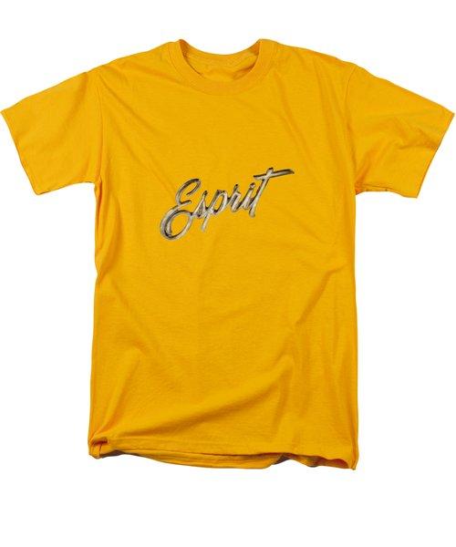 Firebird Esprit Chrome Emblem Men's T-Shirt  (Regular Fit) by YoPedro