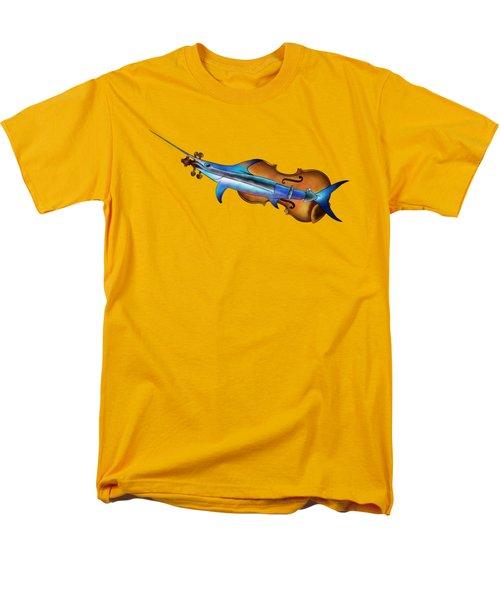 Fisholin V1 - Instrumental Fish Men's T-Shirt  (Regular Fit) by Cersatti