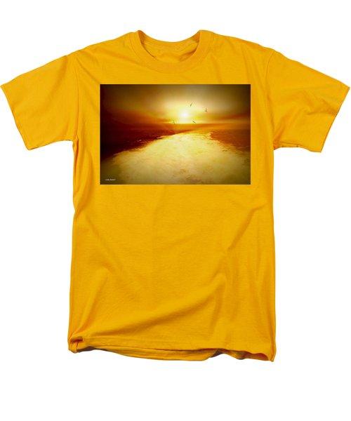 Freedom escape T-Shirt by Linda Sannuti