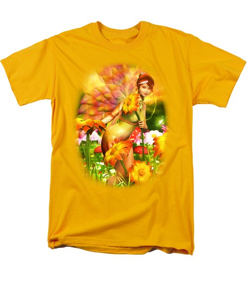 Golden Adornments Men's T-Shirt  (Regular Fit) by Brandy Thomas