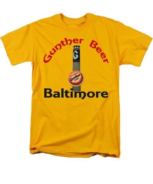 Gunther Beer Baltimore Men's T-Shirt  (Regular Fit) by Jost Houk