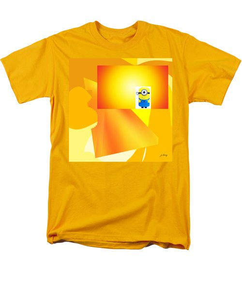 Hello Yellow Men's T-Shirt  (Regular Fit) by Jacquie King