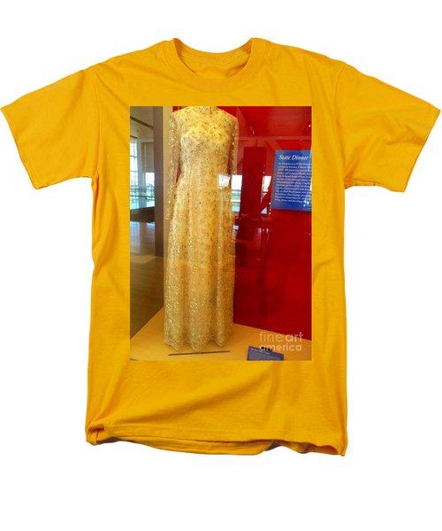 Hillary Clinton State Dinner Gown Men's T-Shirt  (Regular Fit) by Randall Weidner