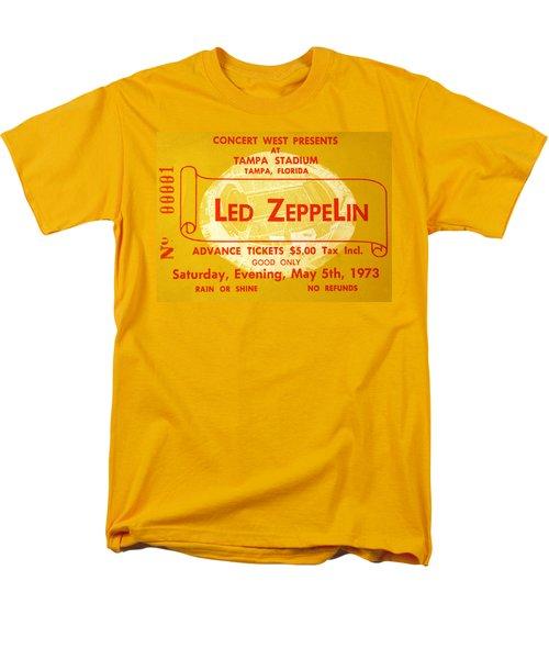 Led Zeppelin Ticket Men's T-Shirt  (Regular Fit) by David Lee Thompson