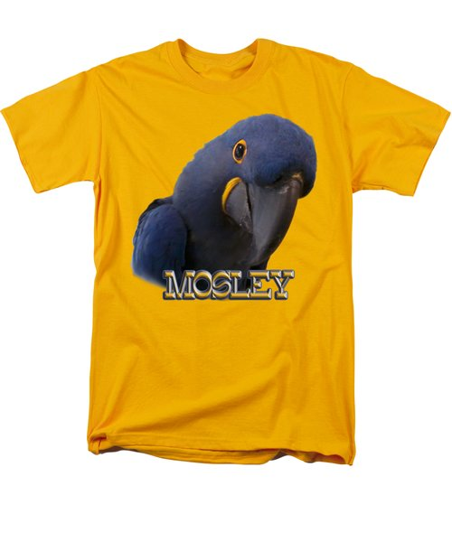 Mosley Men's T-Shirt  (Regular Fit) by Zazu's House Parrot Sanctuary