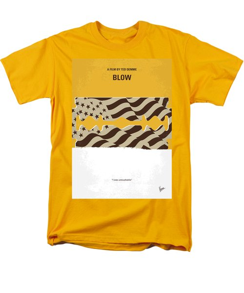 No693 My Blow Minimal Movie Poster Men's T-Shirt  (Regular Fit) by Chungkong Art