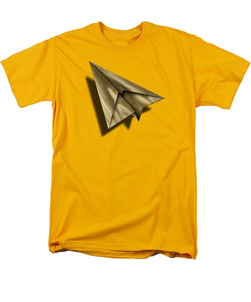 Paper Airplanes Of Wood 18 Men's T-Shirt  (Regular Fit) by YoPedro