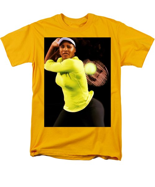 Serena Williams Bamm Men's T-Shirt  (Regular Fit) by Brian Reaves