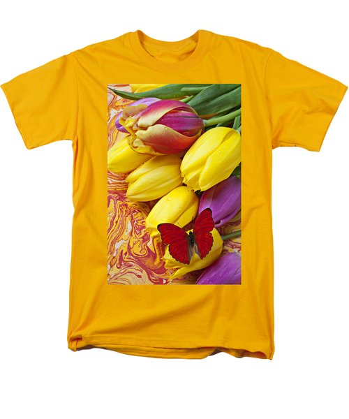 Spring tulips T-Shirt by Garry Gay