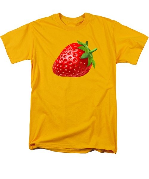 Strawberry Men's T-Shirt  (Regular Fit) by T Shirts R Us -