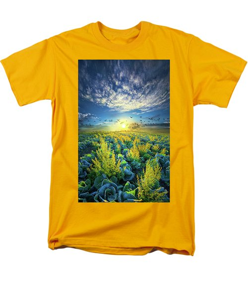 That Voices Never Shared Men's T-Shirt  (Regular Fit) by Phil Koch