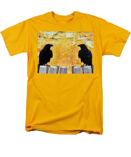 The Gossips Men's T-Shirt  (Regular Fit) by Pat Saunders-White