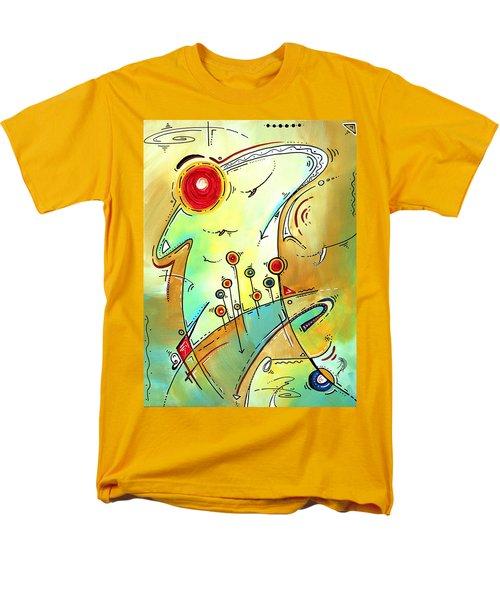 Traveling Band Original Painting MADART T-Shirt by Megan Duncanson