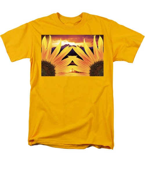 Two Sunflower Sunset T-Shirt by James BO  Insogna