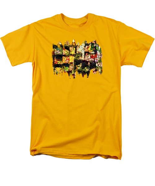 Veggies And Fruit Galore Men's T-Shirt  (Regular Fit) by Thom Zehrfeld