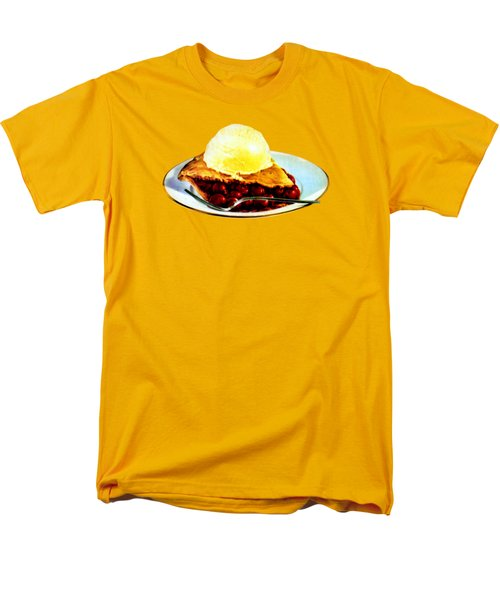 Vintage Pie A La Mode Men's T-Shirt  (Regular Fit) by Historic Image