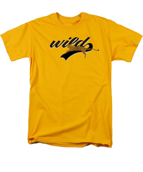 Wild Men's T-Shirt  (Regular Fit) by Priscilla Wolfe