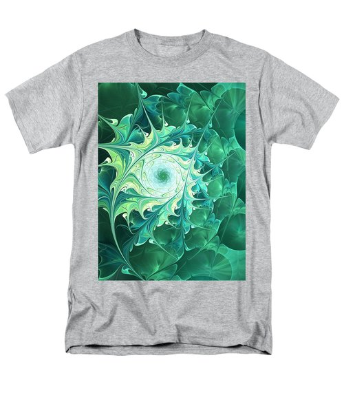 Green Magic Men's T-Shirt  (Regular Fit) by Anastasiya Malakhova