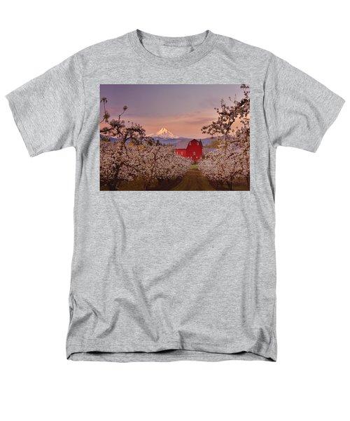 Hood River Sunrise T-Shirt by Darren  White