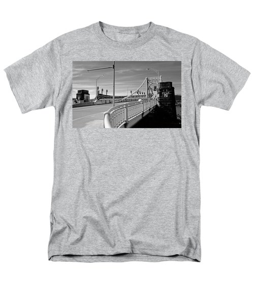 Pittsburgh - Roberto Clemente Bridge T-Shirt by Frank Romeo