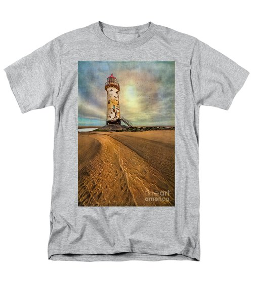 Point of Ayre Lighthouse T-Shirt by Adrian Evans