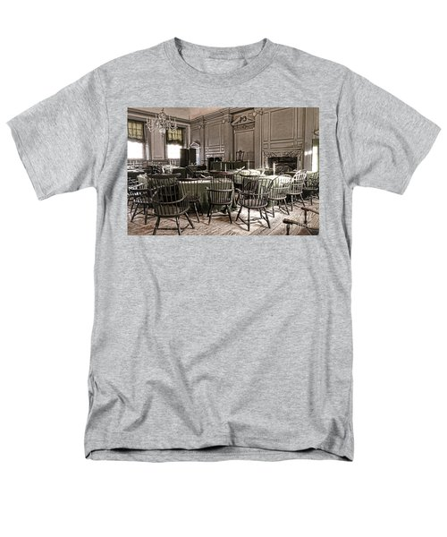 Antique Independence Hall T-Shirt by Olivier Le Queinec