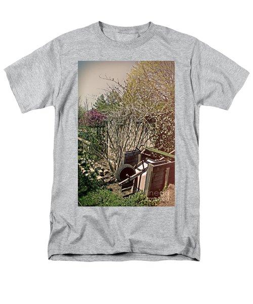 Behind the Garden T-Shirt by Tom Gari Gallery-Three-Photography