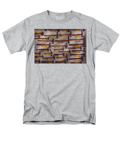 Blacksmith - Tools - Pounding headache  T-Shirt by Mike Savad
