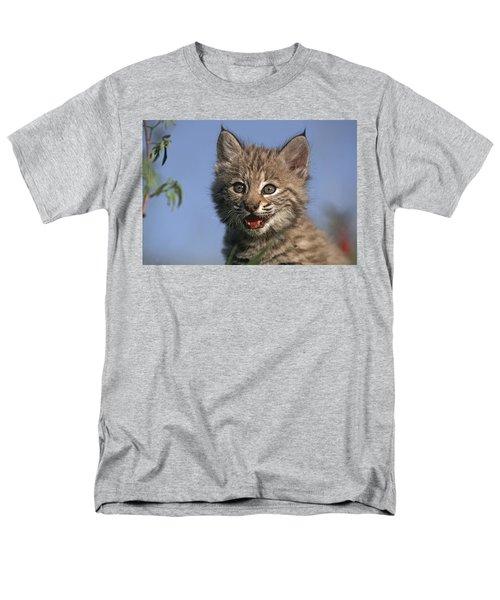 Bobcat Kitten T-Shirt by Tim Fitzharris
