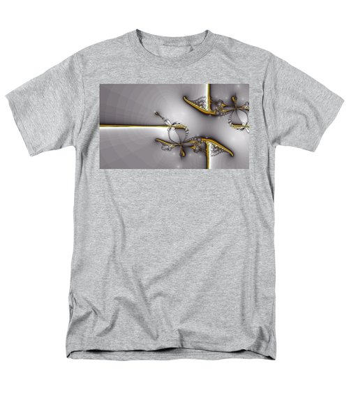 Broken Jewelry-Fractal Art T-Shirt by Lourry Legarde