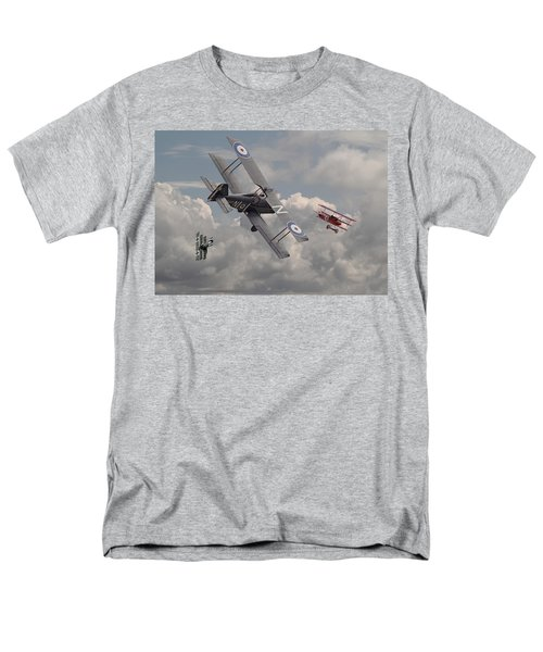 Cat among the Pigeons T-Shirt by Pat Speirs