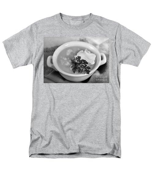 Cauliflower Soup Men's T-Shirt  (Regular Fit) by Iris Richardson