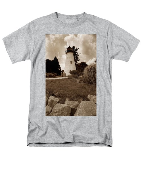 CONCORD POINT LIGHTHOUSE T-Shirt by Skip Willits