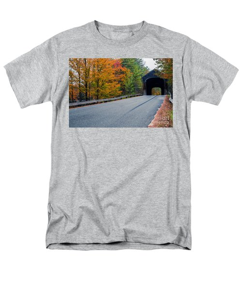 Corbin Covered Bridge Vermont T-Shirt by Edward Fielding
