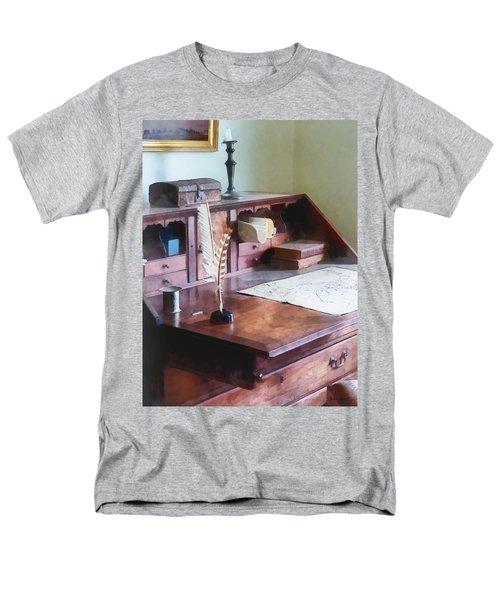Draftsman - Cartographer's Desk T-Shirt by Susan Savad