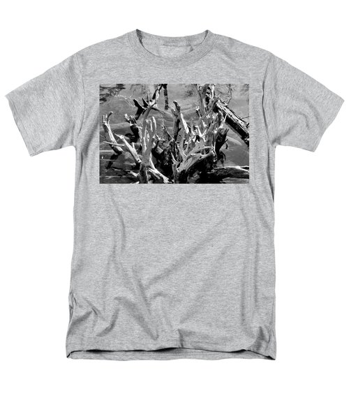 Driftwood on Lost Lake T-Shirt by Michelle Calkins