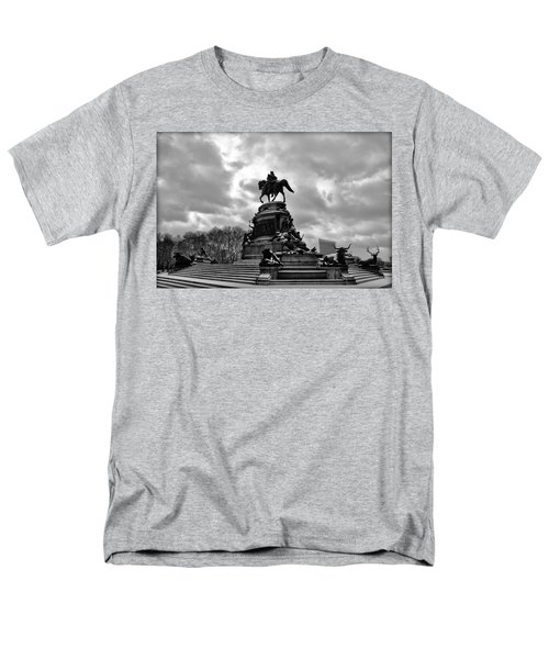 Eakins Oval in Winter T-Shirt by Bill Cannon
