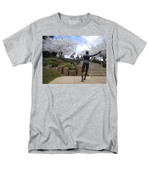 FLEETING SPRING at the ARENA T-Shirt by Daniel Hagerman