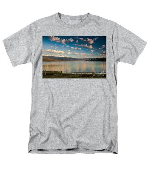 Golden Reflection On Lake Cascade T-Shirt by Robert Bales
